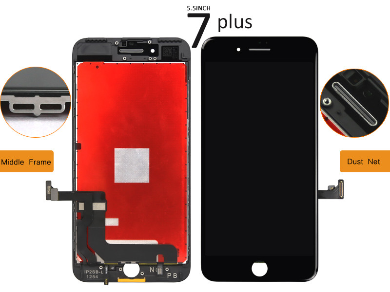 Complete LCD Screen Assembly with Bezel for iPhone 7 Plus