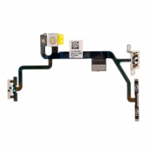 Replacement for iPhone 8 Power/Volume Button Flex Cable with Metal Bracket Assembly