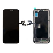 Complete LCD Screen Assembly with Bezel for iPhone X - Black