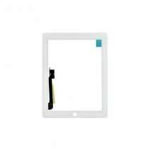 For ipad 3 (the New For ipad) Touch Screen with Digitizer -White