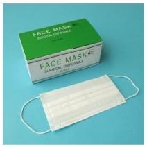 50 pcs Earloop Face Mask Disposable dust respirator