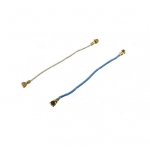A Pair White & Blue Antennas Spare Parts for Samsung Galaxy S5 G900