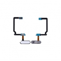 Home Button with Flex Cable Replacement for Samsung Galaxy S5 SM-G900 - White