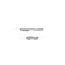 Silver Volume Button Key + Power Button Key for Samsung Galaxy Note 2 I317 AT&T