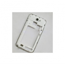 Middle Cover with Side Keys For samsung Galaxy Note II N7100-White