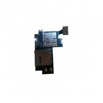 SIM Holder Flex Cable For samsung Galaxy Note II N7100