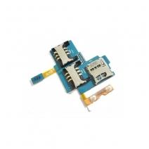 For samsung I909 Galaxy S SIM Card Socket Holder Flex Cable