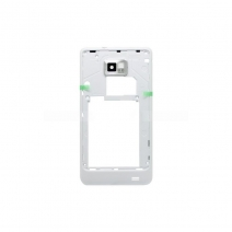 White Mid Frame For samsung I9100 Galaxy S II