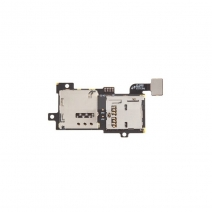 OEM SIM Card and Memory SD Card Contact Holder Flex Cable for Samsung Galaxy S3 S III SGH-T999