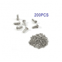 200PCS/Pack Repair Replacement Alloy Screws for Samsung Galaxy S 4 IV i9500