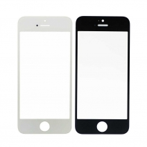 Front Outer Screen Glass Lens for iphone 5/5C/5S - White / Black