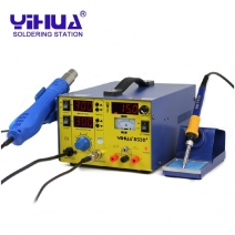 Hot air gun and Solder iron