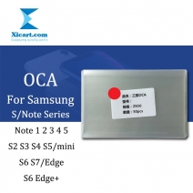 OCA Optical Clear Adhesive Double-side Sticker for Samsung S/Note Series, Thickness: 250um