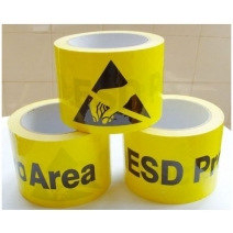 PVC Anti-Static Warning Labels Stickers Floor Tape - 75mm*50M