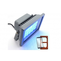 Curing UV glue light lamp for LOCA glue and LCD refurbish 20 LEDS 20W UV ultraviolet light