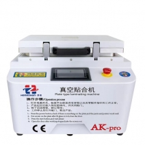 Auto-Lock 2 in 1 AK PRO OCA Vacuum Laminating Machine built-