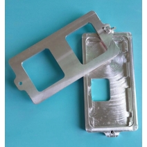 Frame Bezel Installation Mold Holder for iPhone X - Aluminum