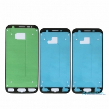 Front Housing Frame Bezel Plate Adhesive Sticker For samsung Galaxy
