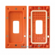 Magnetic Adsorption Frame Bezel Installation Mold Holder for iPhone X