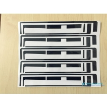 Screen Adhesive Black Sticker For ipad 2 / 3
