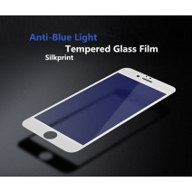 Silkprint Full Coverage Tempered GLass 2.5D Arc Edge 0.26mm For iPhone (Anti-Blue Light)