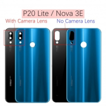 Back Battery Cover Glass Lens for Huawei P20 Lite