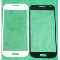 Front Outer Screen Glass Lens for Samsung Galaxy S4 mini I9190 I9192 I9198 I9195 - Black /White /Blue /Red /Pink