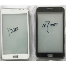 Front Outer Screen Glass Lens for Samsung Galaxy Note 1 i9220 N7000 i9228 i889 i717 - White /Black /Red