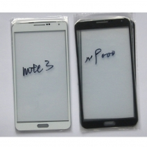 Front Outer Screen Glass Lens for Samsung Galaxy Note 3 N9000 - Black /White