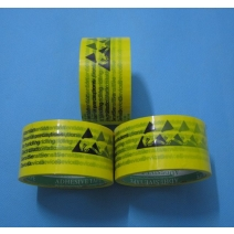 Anti-Static Warning Labels Stickers Tape Packaging Tape- 48mm*22m