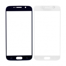 Front Outer Screen Glass Lens for Samsung Galaxy S6  - White /Black