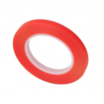 Red Double Sided Adhesive Tape 1-12mm × 25M
