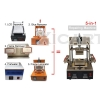 Newest 5-in-1 LCD Screen Separator Machine for iPhone 4G 5G 6 6 plus Repairing