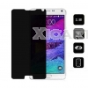 Non-Full Coverage Privacy Tempered GLass 2.5D Arc Edge 0.2mm For Samsung Galaxy