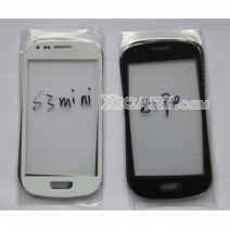 Front Outer Screen Glass Lens for Samsung Galaxy S3 Mini i8190- Black /White /Blue /Grey /Red