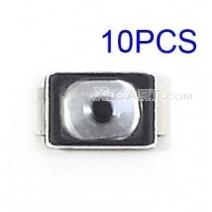 10PCS Metal Button Terminal Sticker for iPhone 5s Audio Sensor Ribbon