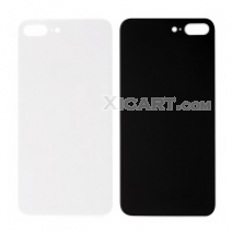 Replacement For iPhone 8 Plus Back Cover - Black / White / Gold