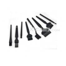 8pcs/set PCB Cleaning Antistatic Brush ESD Hairbrush for BGA Repair