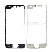 For iPhone 5 Touch Screen Frame Bezel with hot melt glue - black / white
