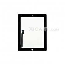 For ipad 3 (the New For ipad) Touch Screen with Digitizer -Black