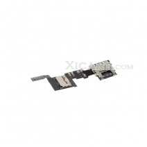 Sim Card Tray Holder Flex Cable for Samsung Galaxy Note 4 N910T