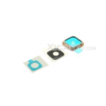 Camera Lens & Bezel & Sticker Repair Part for Samsung Galaxy S5 - Gold