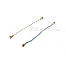 A Pair White & Blue Antennas Spare Parts for Samsung Galaxy S5 G900