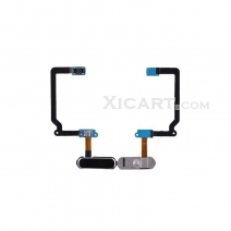 Home Button with Flex Cable Replacement for Samsung Galaxy S5 SM-G900 - Black