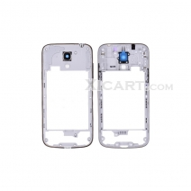 Back Housing with Bezel and Camera lens&Power&Volume Buttons for Samsung Galaxy SIV mini LTE i9195