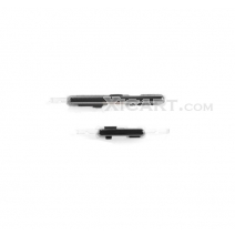 Black Volume Button Key + Power Button Key for Samsung I317 Galaxy Note 2 AT&T