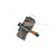 SIM Card Holder with Flex Cable For samsung Galaxy S I9000