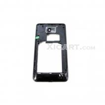 Black Mid Frame For samsung I9100 Galaxy S II