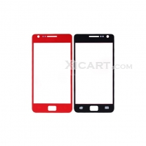 Front Screen Glass Lens for Samsung i9100 Galaxy S ii / 2 - Red