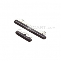 Black Power Button + Volume Button Replacement Parts for Samsung Galaxy S3 S III SGH-T999